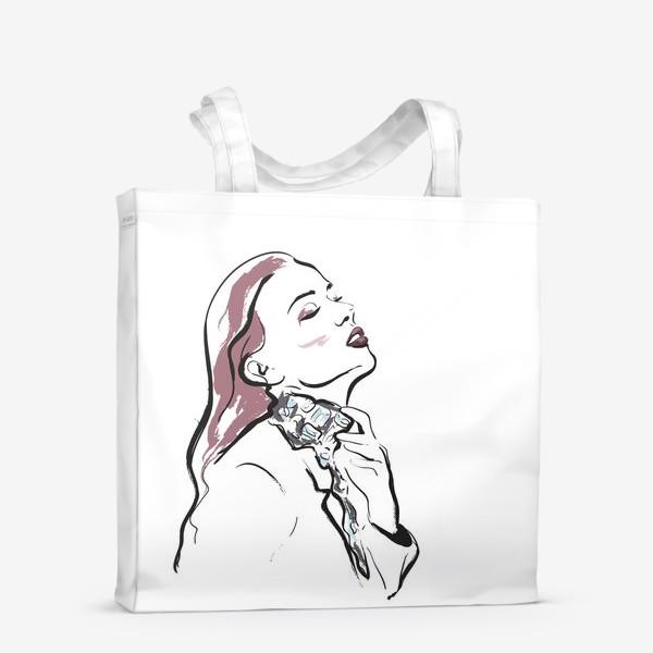 Сумка-шоппер «Fashion | Девушка 3»