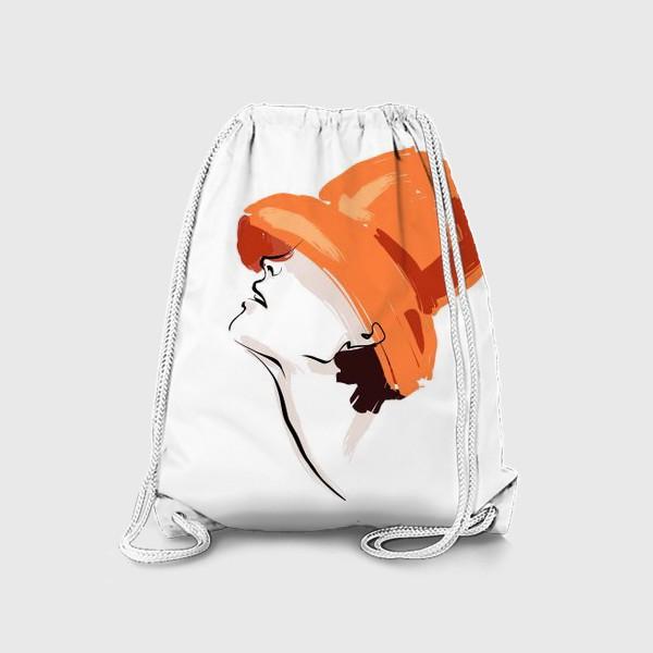 Рюкзак «Fashion | Девушка в шляпе»