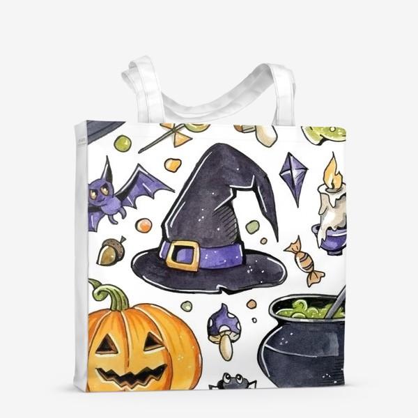 Сумка-шоппер «Принт Хеллоуин»