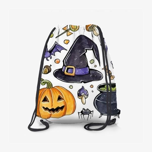 Рюкзак «Принт Хеллоуин»