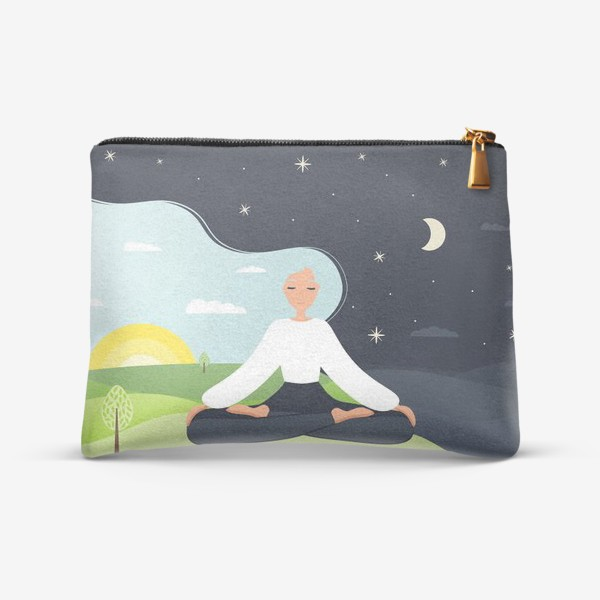Косметичка «Йога. День и ночь. Медитация. »