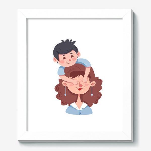 Картина «Мама и сын»