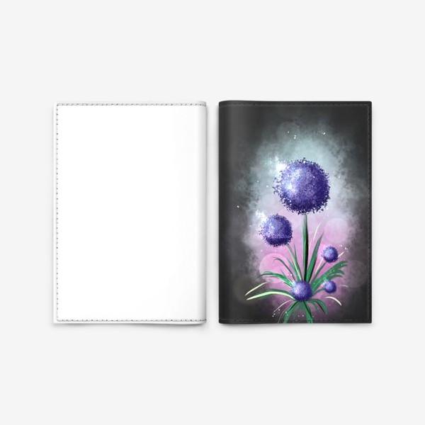 Обложка для паспорта «Цветочек магический»