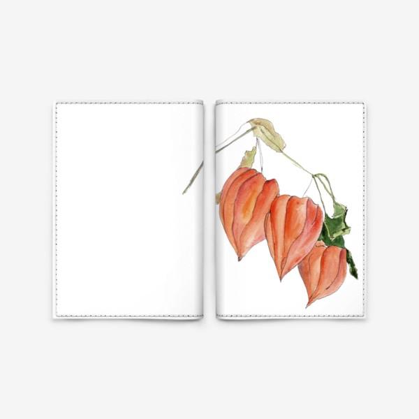 Обложка для паспорта «Физалис. Краски осени.»