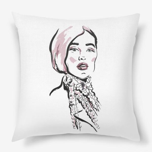 Подушка «Fashion | Девушка 2»