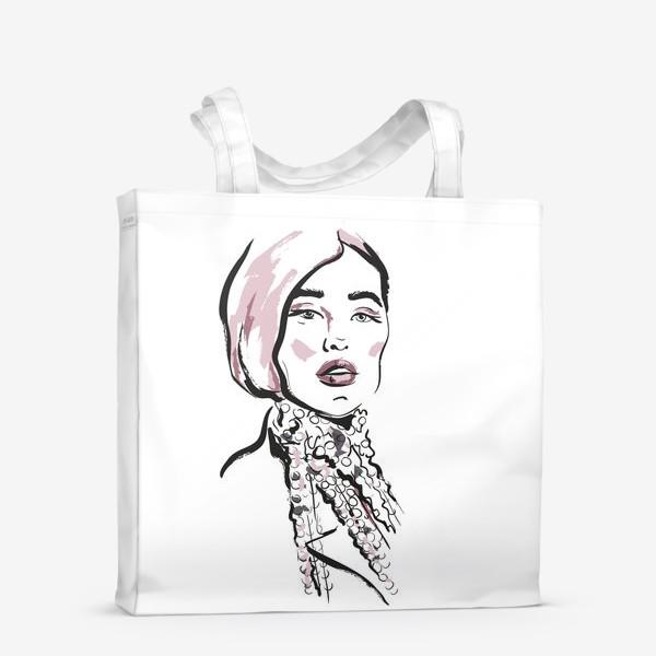 Сумка-шоппер «Fashion | Девушка 2»