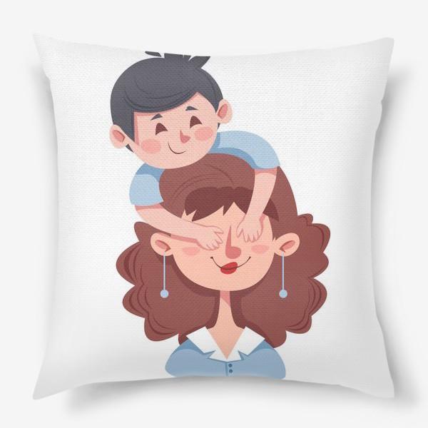 Подушка «Мама и сын»
