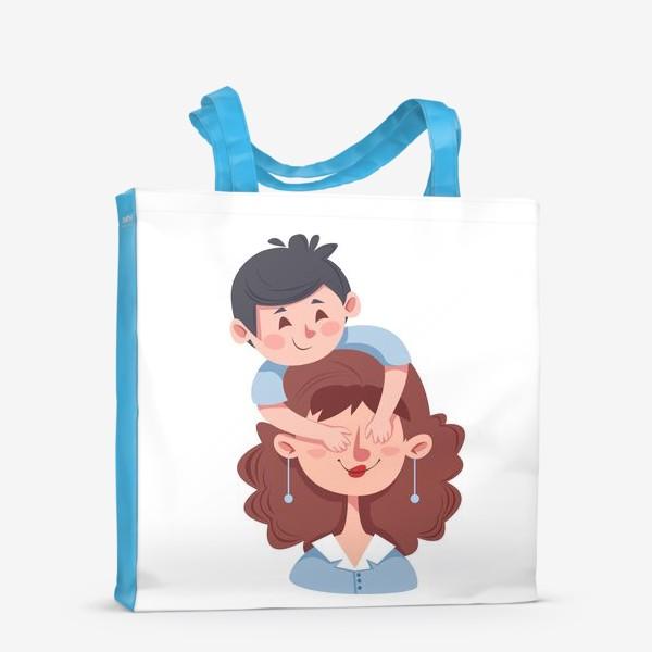 Сумка-шоппер «Мама и сын»