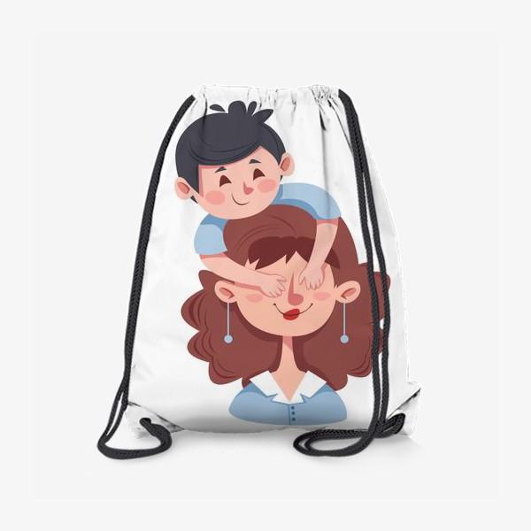 Рюкзак «Мама и сын»