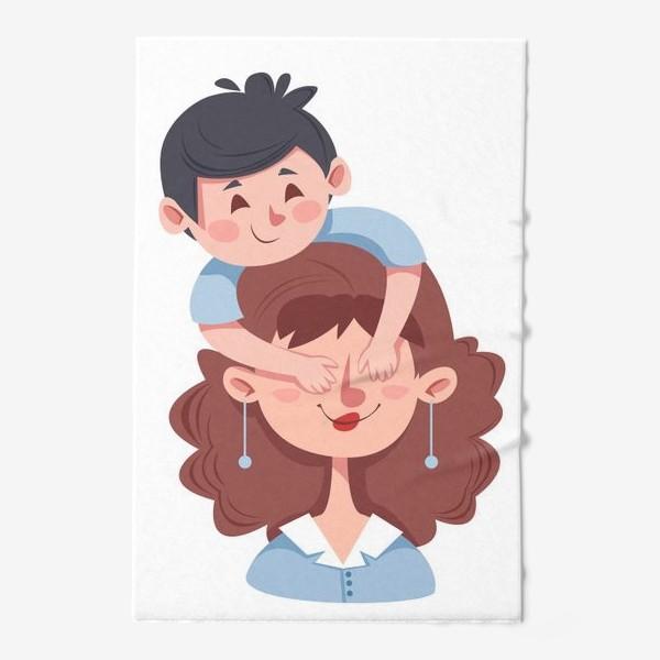 Полотенце «Мама и сын»