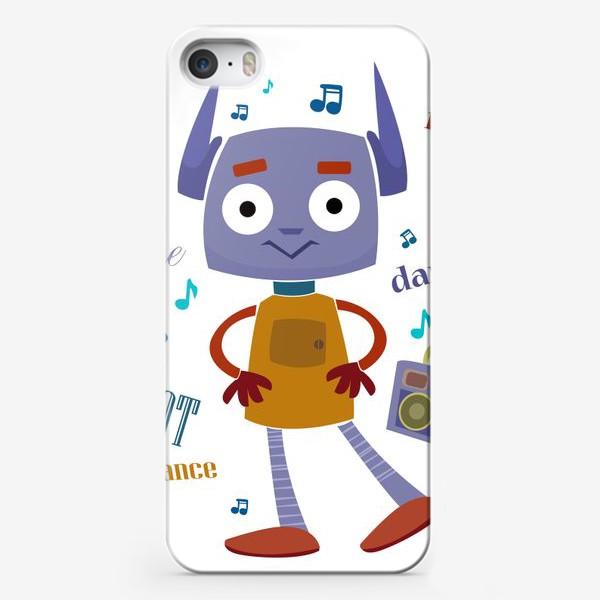 Чехол iPhone «Танцующий робот для ребенка мальчика»