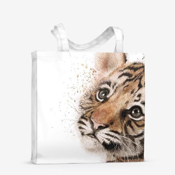 Сумка-шоппер «Маленький милый тигр»