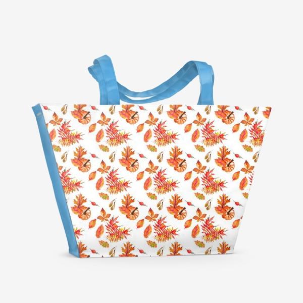 Пляжная сумка «осень»