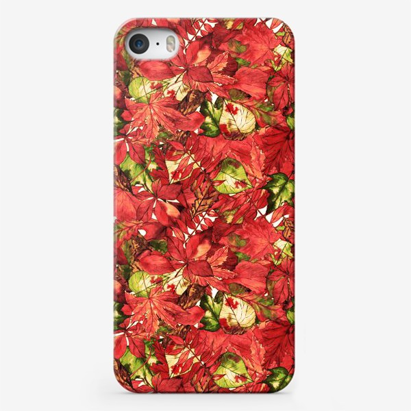 Чехол iPhone «яркая осень»