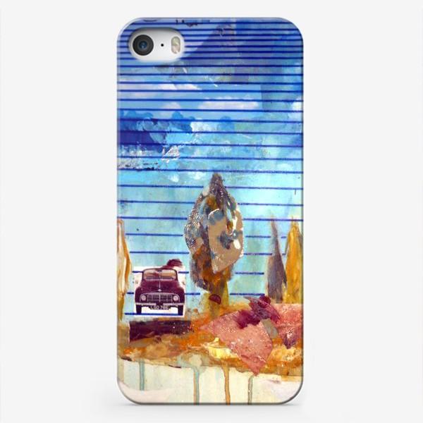 Чехол iPhone «дорога»
