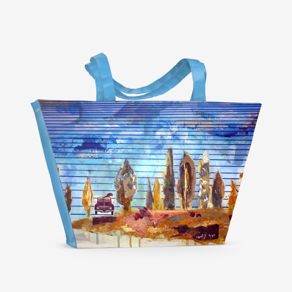 Пляжная сумка «дорога»