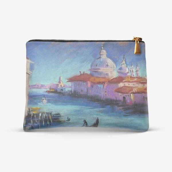Косметичка «Венеция Городской скетч пастелью Архитектура Европы»