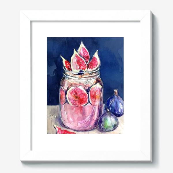 Картина «Смузи инжир»