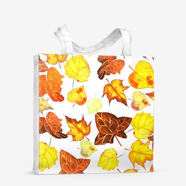 Сумка-шоппер «желтые листья»