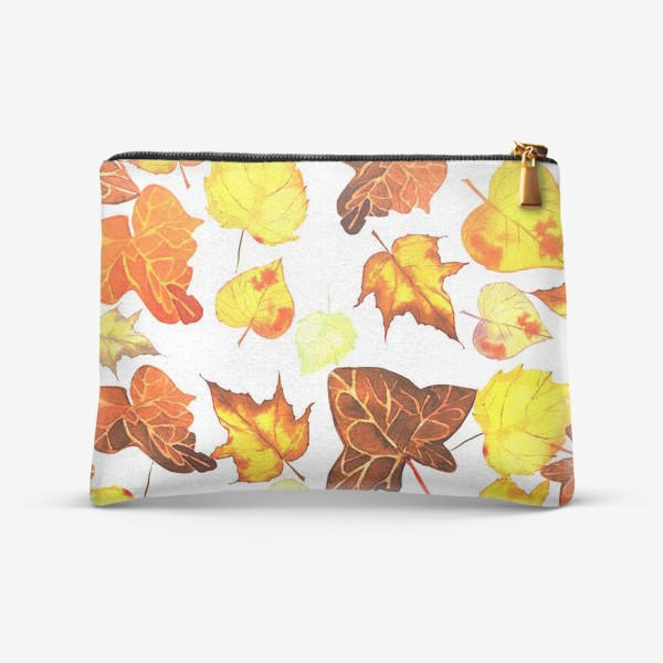 Косметичка «желтые листья»