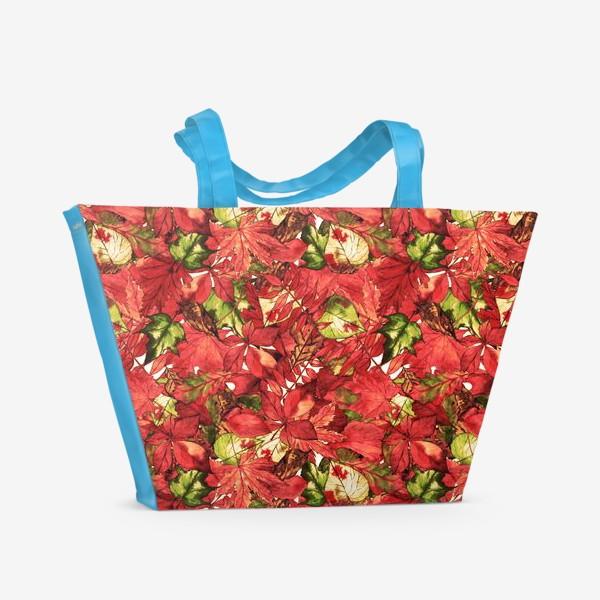 Пляжная сумка «яркая осень»
