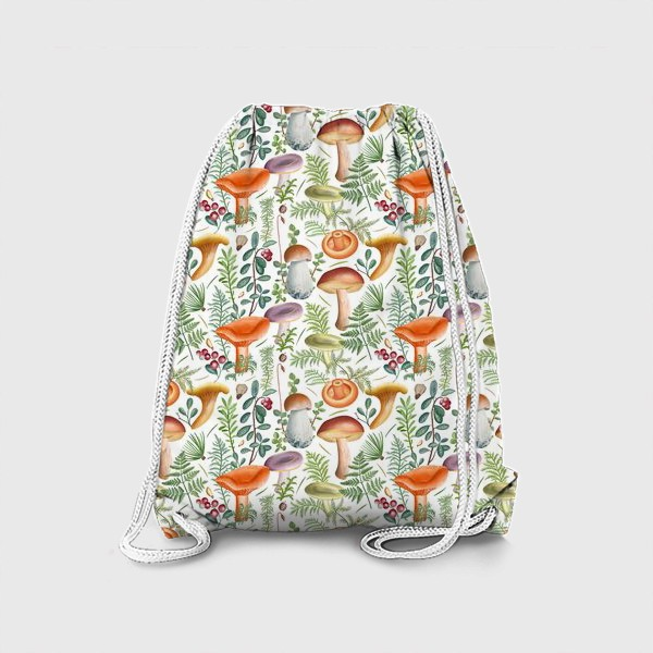 Рюкзак «Грибной лес (грибы, мох, ягоды)»