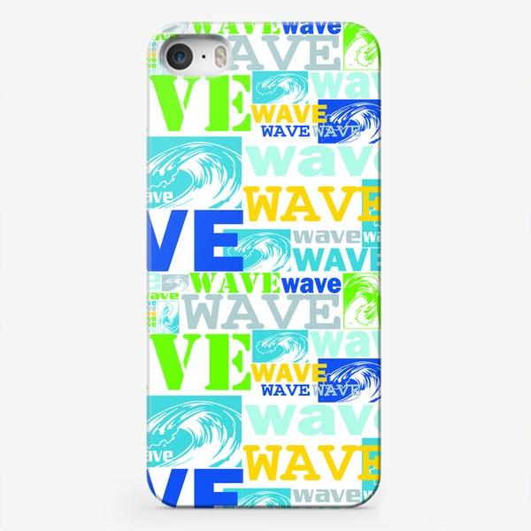 Чехол iPhone «Волна, wave»