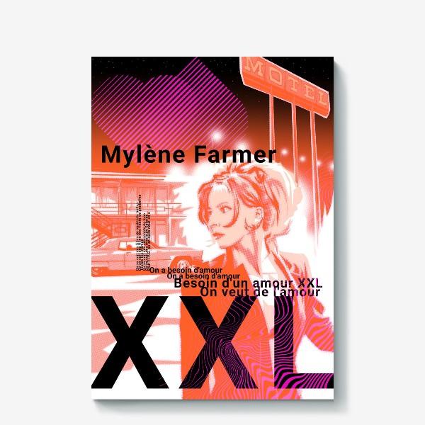 Холст «Mylene Farmer»