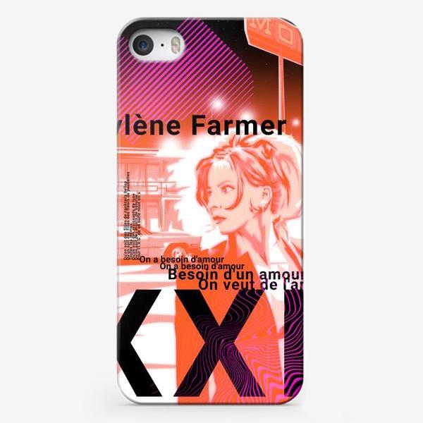 Чехол iPhone «Mylene Farmer»