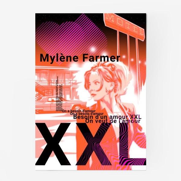 Постер «Mylene Farmer»
