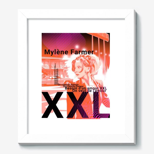 Картина «Mylene Farmer»