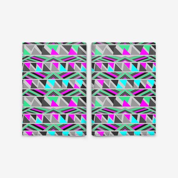 Обложка для паспорта «абстрактный паттерн»