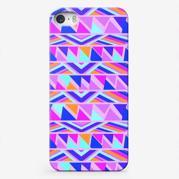 Чехол iPhone «геометрия в полосках»