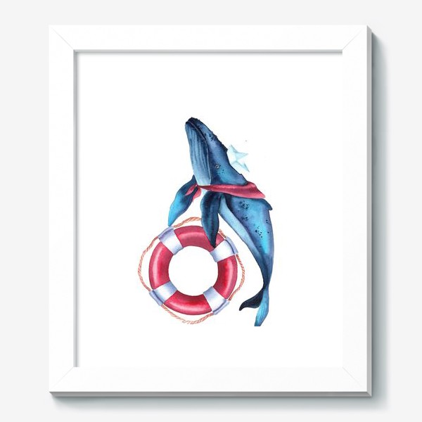 Картина «Кит морячок»