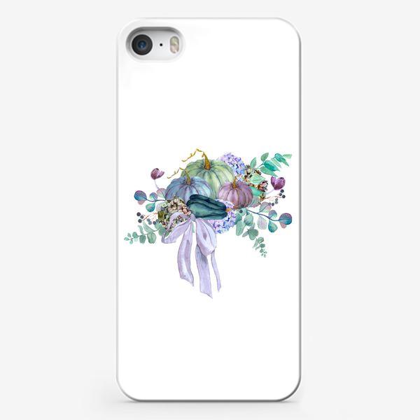 Чехол iPhone «осень тыквы эвкалипт»
