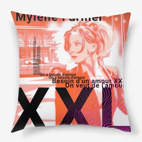 Подушка «Mylene Farmer»