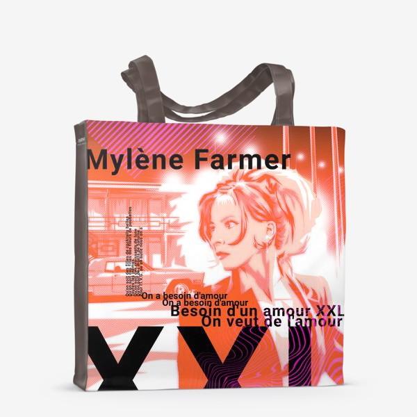 Сумка-шоппер «Mylene Farmer»