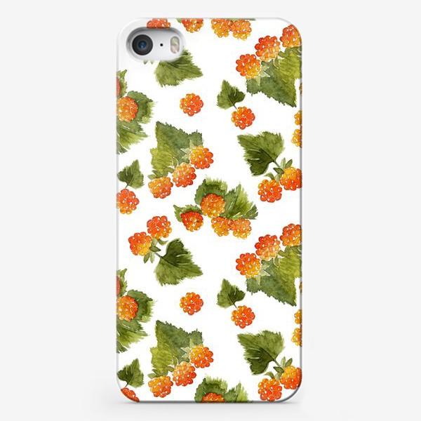 Чехол iPhone «Ягоды морошки»