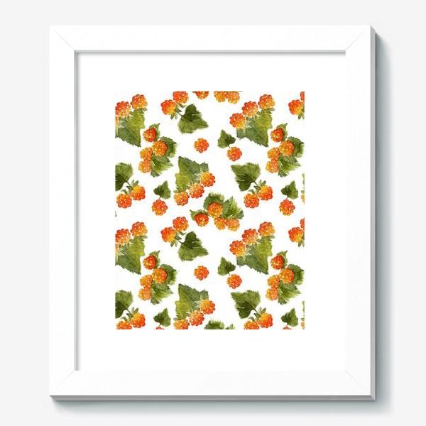Картина «Ягоды морошки»