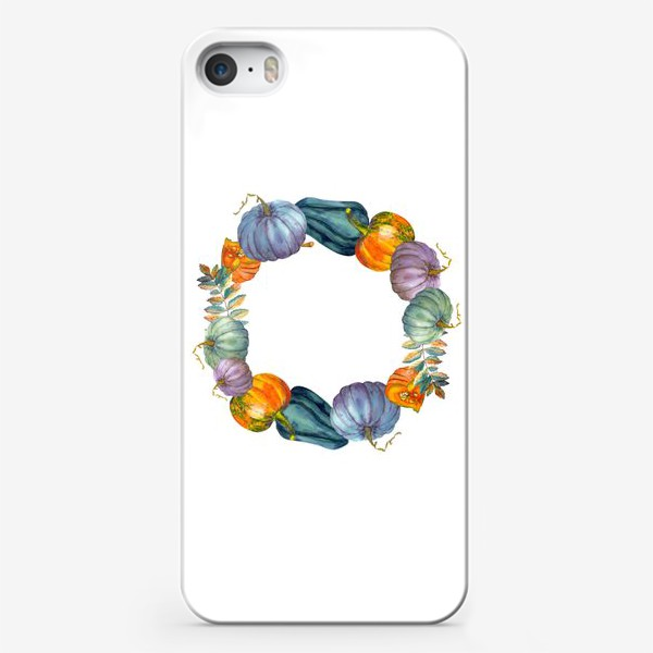 Чехол iPhone «осень тыквы»