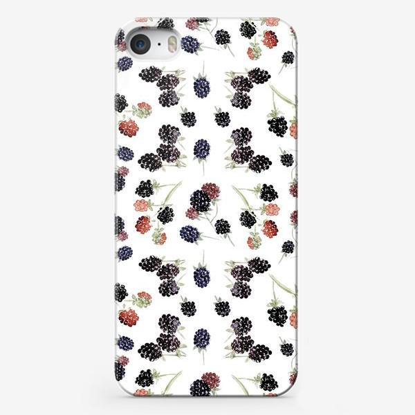 Чехол iPhone «Ягоды ежевики»
