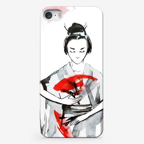 Чехол iPhone «Гейша»