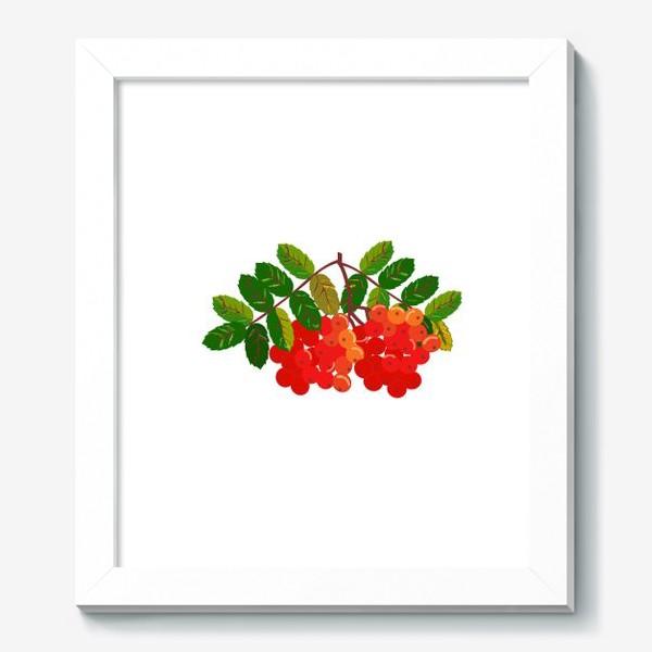 Картина «Рябиновая кисть»