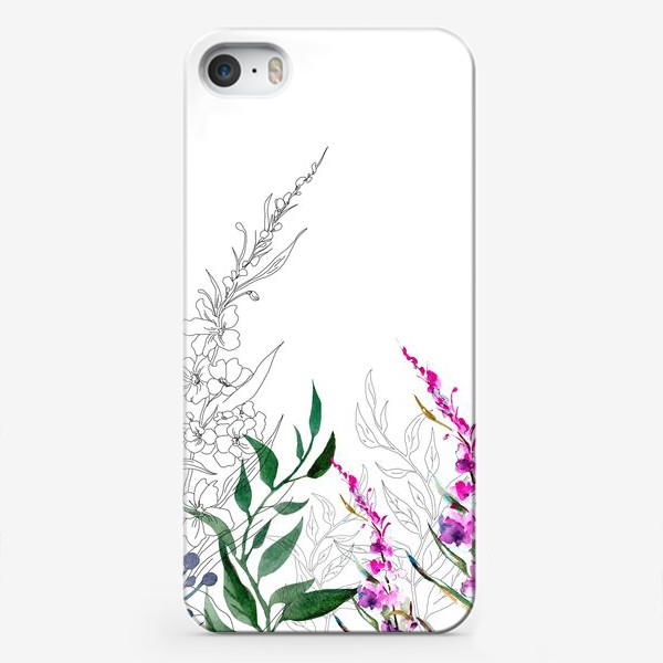 Чехол iPhone «Цветочное поле»