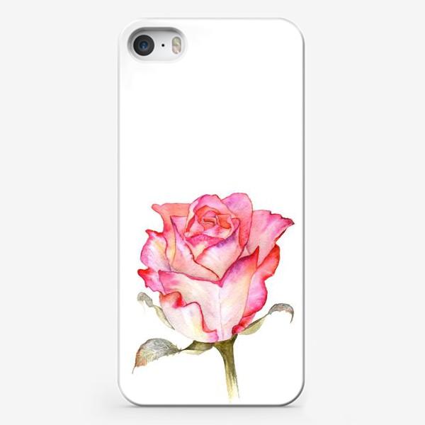 Чехол iPhone «Роза»