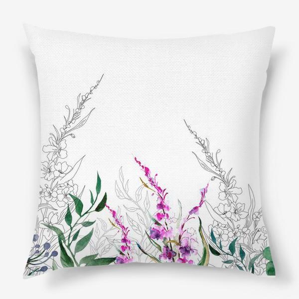 Подушка «Цветочное поле»