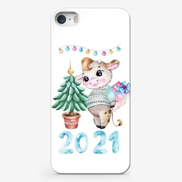 Чехол iPhone «С новым 2021 годом!»
