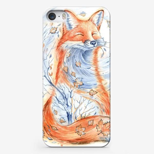 Чехол iPhone «Лисичка»