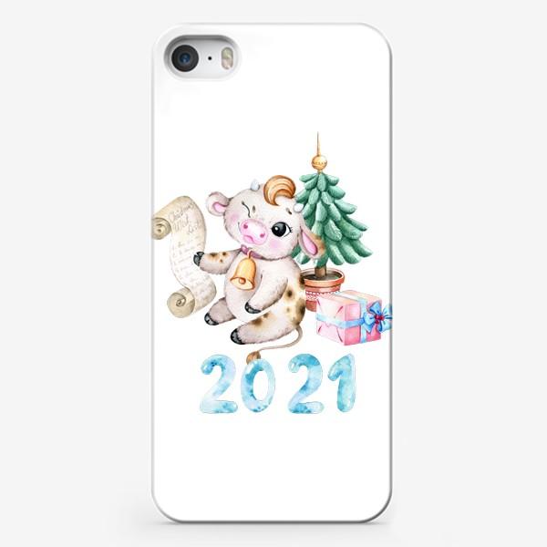 Чехол iPhone «Год быка 2021»