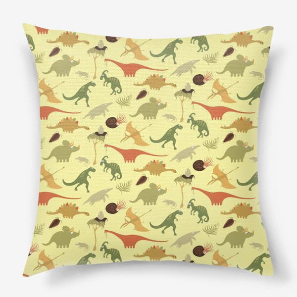 Подушка «Динозаврики»